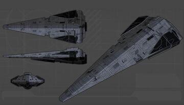 Star Wars - Raider Class Corvette Minecraft Map & Project