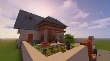 My real life House in Minecraft! [Completed] Minecraft Map & Project