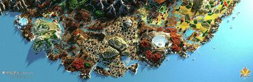Alunnius - 6k*6k survival map Minecraft Map & Project
