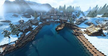 Dawnstar, capitale of the Pale (Skyrim TES) Minecraft Map & Project