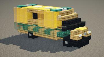 London/UK Ambulance Minecraft Map & Project