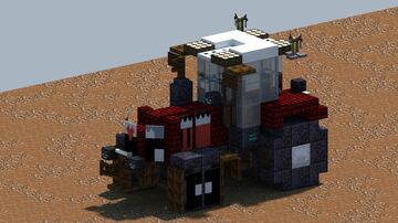 Massey Ferguson 8737, Tractor [With Download] Minecraft Map & Project