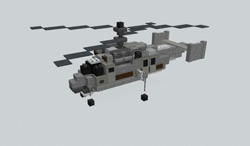KA-25 Anti Submarine Helicopter Minecraft Map & Project