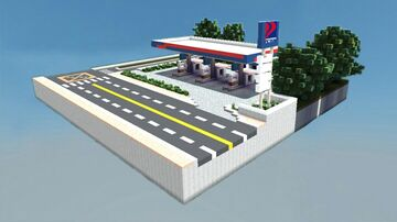 Petron Gas Station   Philippines Minecraft Map & Project