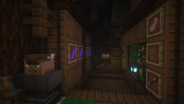 Fletcher Cave Shop Build Idea - [Japanese Theme] Minecraft Map & Project