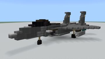 F-15 Eagle 1.5:1 Minecraft Map & Project