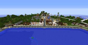 Jurassic World 2021 Version (Restricted Version Update) Minecraft Map & Project