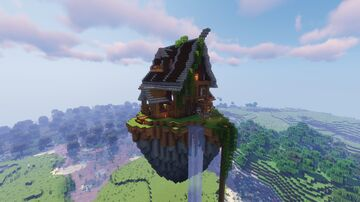The Pub From Origin SMP Schematic (litematica) Minecraft Map & Project