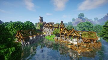 Oakville and Starhold - Western Midlands Minecraft Map & Project