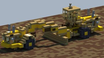 Raygo Giant, Motor Grader [With Download] Minecraft Map & Project