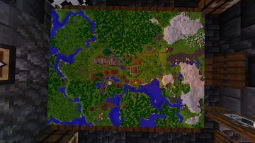 Hardcore Survival Minecraft Map & Project