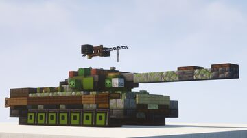 T-10M, T-10 & IS-5 heavy tanks - 1.5:1 scale Minecraft Map & Project