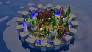 Lobby Medieval Minecraft Map & Project