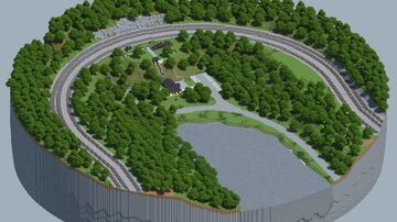 Horseshoe Curve, Pennsylvania [With Download] Minecraft Map & Project