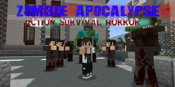 Zombie Apocalypse [Action, Survival, Horror] Minecraft Map & Project