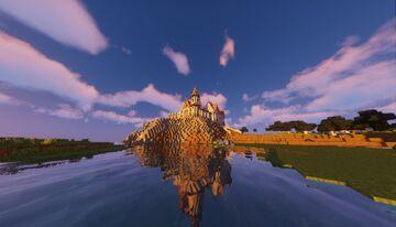 castle progress Minecraft Map & Project