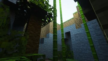 Path Tracing Representation Minecraft Map & Project