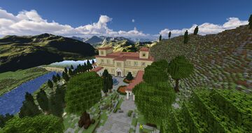 Italian Renaissance Villa Minecraft Map & Project