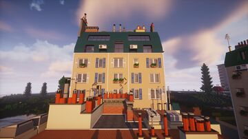 Paris Apartment Minecraft Map & Project