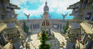 Server HUB/Lobby Greek Theme Minecraft Map & Project