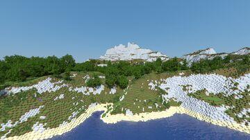 Marble heights ~ La montagna pesante e leggera Minecraft Map & Project