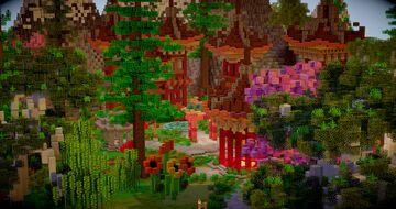 Japan lobby Minecraft Map & Project