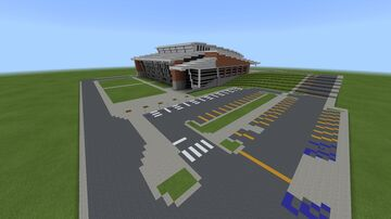 McCarthey Athletic Center (Gonzaga Bulldogs) Spokane, Washington 1:1 (Only Exterior) Minecraft Map & Project