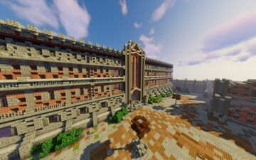 Prison Map For Prison Servers Minecraft Map & Project
