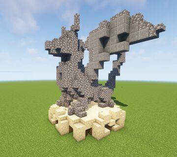 Stone dragon Minecraft Map & Project