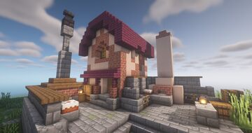 Provision House, The Settlers Online inspiration by QbaQ Minecraft Map & Project