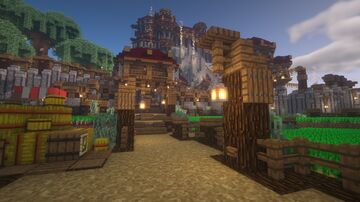JarlHagstrom's Castle Minecraft Map & Project
