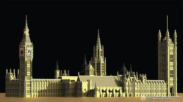 Palace of Westminster UK Minecraft Map & Project