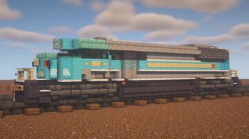 """Canadian Pacific - EMD SD40-2F """"Central Maine & Quebec Leased Power"""" Minecraft Map & Project"""