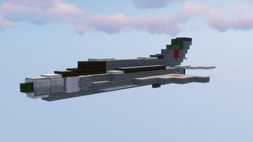 Mikoyan-Gurevich MiG-21bis (NATO reporting name: Fishbed)    1,5:1 Scale Minecraft Map & Project