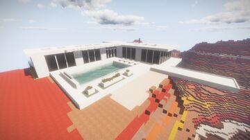 Modern house little tiles 2 Minecraft Map & Project