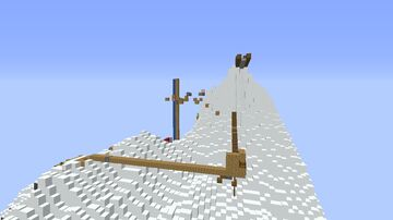 Mountain Parkour Minecraft Map & Project