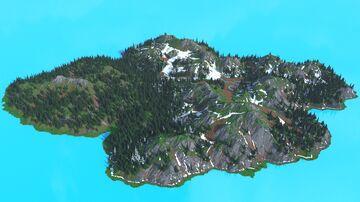 Sansoriny Island - 2048x2048 Minecraft Map & Project