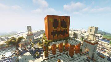 Halloween themed spawn Minecraft Map & Project