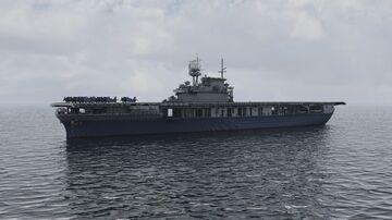 USS Yorktown CV-5 Minecraft Map & Project