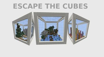 Escape the Cubes V1.1 Minecraft Map & Project