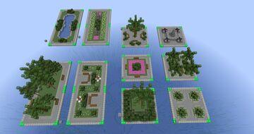 Tropico 5 Small Garden Minecraft Map & Project
