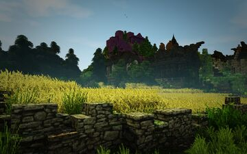 [1.14.3] Raven's Cliffs Medieval Town - Outskirts #weareconquest Minecraft Map & Project