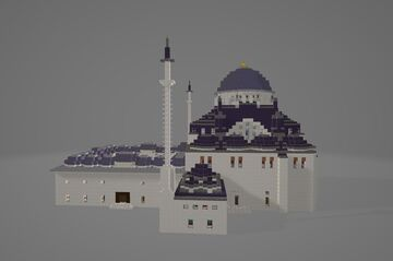 Beyazit Mosque Minecraft Map & Project