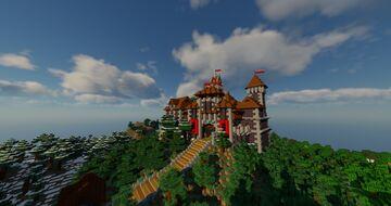 Kaltenbach Castle Minecraft Map & Project
