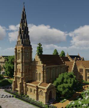 St Alban's Church, Copenhagen Minecraft Map & Project