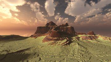 Voskaar Mesa Terrain 1024x1024 1/3 | 1.15+ Minecraft Map & Project