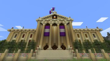 Neoclassical Capitol Building Minecraft Map & Project