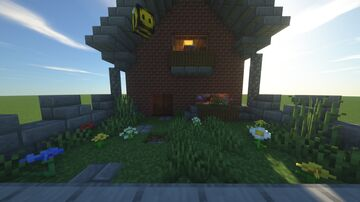 mighty house+interior Minecraft Map & Project