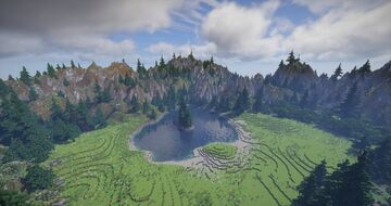 Ergondorf - A survival-friendly realistic mountainous forest Minecraft Map & Project