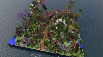 ✨MAGICAL FOREST HCF SPAWN✨ Minecraft Map & Project